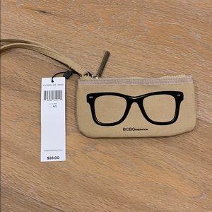BCBGeneration zippered pouch / eyeglass case